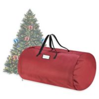 9-Foot Premium Artificial Christmas Tree Storage Bag in Red