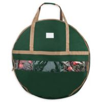 Elf Stor 36-Inch Ultimate Artificial Christmas Wreath Storage Bag in Green