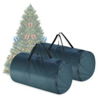 Tiny Tim Totes 2-Pack Christmas Tree Bag in Green