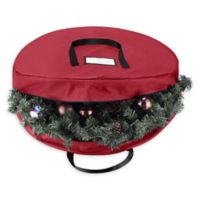 Tiny Tim Totes 36-Inch Holiday Wreath Storage Bag