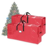 Elf Stor 9-Foot Christmas Tree Bag in Red (Pack of 2)