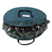 Tiny Tim Totes Premium Wreath Storage Bag in Green