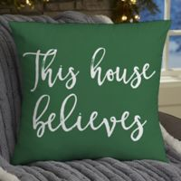 Personalized Write Your Own Home Expressions 18-Inch Throw Pillow