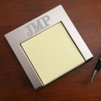 Personalized Monogram Post-It Holder