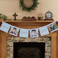 Precious Prayer Personalized Photo Paper Banner