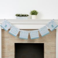 Baby Zoo Animals Baby Shower Personalized Paper Banner