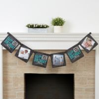 Vintage Age Birthday Personalized Photo Paper Banner