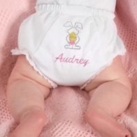 Fancy Pants Embroidered Diaper Cover in Easter Bunny