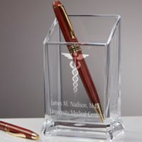 Doctor's Office Personalized Acrylic Pen & Pencil Holder