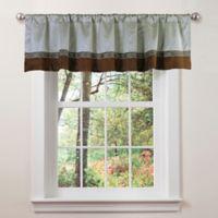Ashlyn Window Valance in Brown