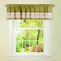 Ashlyn Window Valance in Green