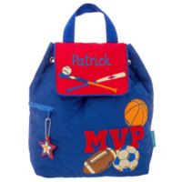 Stephen Joseph® Sports Quilted Name Backpack