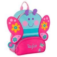 Stephen Joseph® Butterfly Name Sidekick Backpack in Blue