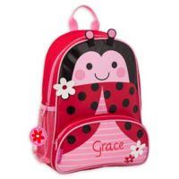 Stephen Joseph® Ladybug Name Sidekick Backpack in Red
