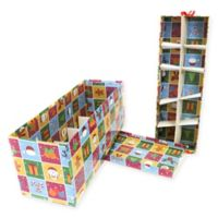 2-Tier 20-Ornament Multicolor Christmas Ornament Storage Box