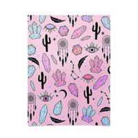 Deny Designs Emanuela Carratoni Desert Crystals Theme Poster in Pink