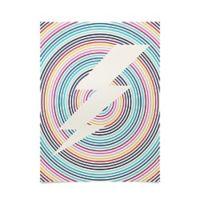 Deny Designs Fimbis Bolt 18-Inch x 24-Inch Poster in Beige