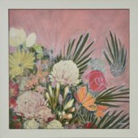 Ophelia 30-Inch Square Framed Canvas Wall Art