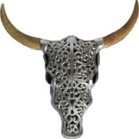 Océane 16-Inch Wood and Metal Wall Sculpture