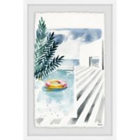 Parvez Taj Infinite Pool 16-Inch x 24-Inch Framed Wall Art