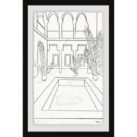 Parvez Taj The Ultimate Pool 12-Inch x 18-Inch Framed Wall Art