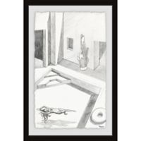 Parvez Taj Float and Relax 16-Inch x 24-Inch Framed Wall Art