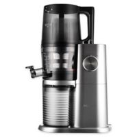 Hurom H-AI Slow Juicer in Platinum/Silver
