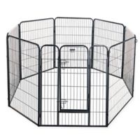 Pet Trex 40-Inch Black Heavy Duty Playpen
