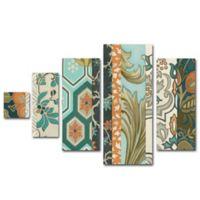 Trademark Fine Art Textile Multi-Panel Canvas Wall Art