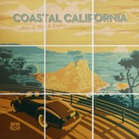 Deny Designs 9-Piece Coastal Cali Square Wall Art in Green