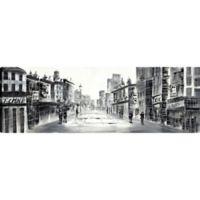 ArtMaison Canada Black & White Lanes I Canvas Wall Art