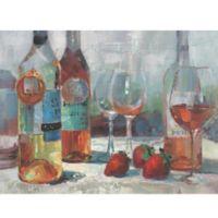 ArtMaison Canada A Glass Of Wine 30-Inch x 40-Inch Canvas Wall Art