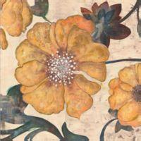ArtMaison Canada Floral Print I 24-Inch Square Canvas Wall Art