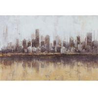 ArtMaison Canada Landscape Dust II 24-Inch x 36-Inch Canvas Wall Art
