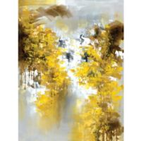 ArtMaison Canada Yellow Floral I 30-Inch x 40-Inch Canvas Wall Art