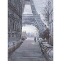 ArtMaison Canada 30-Inch x 40-Inch Eiffel Tower I Wrapped Canvas Wall Art