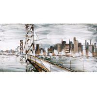 ArtMaison Canada 30-Inch x 60-Inch San Francisco Wrapped Canvas Wall Art