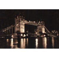 ArtMaison Canada 24-Inch x 36-Inch London Bridge Canvas Wall Art