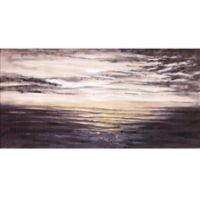 ArtMaison Canada 24-Inch x 48-Inch Lake View I Canvas Wall Art