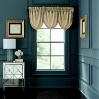 Waterford® Abrielle Rod Pocket Window Valance in Champagne