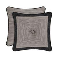 J. Queen New York™ Raffaella 18-Inch Square Throw Pillow in Graphite