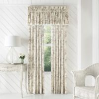 Piper & Wright Julia 84-Inch Rod Pocket Window Curtain Panel Pair