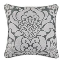 Croscill® Remi 18-Inch Square Throw Pillow in Grey