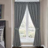 Croscill® Remi 84-Inch Rod Pocket Window Curtain Panel Pair in Grey