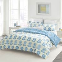 Laura Ashley® Sunflower Full/Queen Comforter Set in Blue
