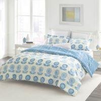 Laura Ashley® Sunflower Full/Queen Duvet Set in Blue