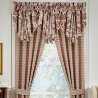 Croscill® Lauryn Window Valance in Taupe
