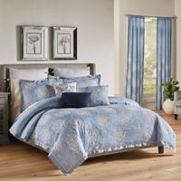 Croscill® Zoelle Queen Comforter Set in Blue