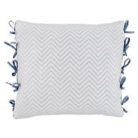 Croscill® Zoelle European Pillow Sham in White