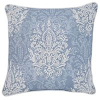 Croscill® Zoelle 18-Inch Square Throw Pillow in Blue